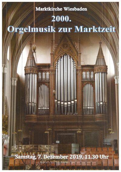 2000.Orgelmusik zur Marktzeit