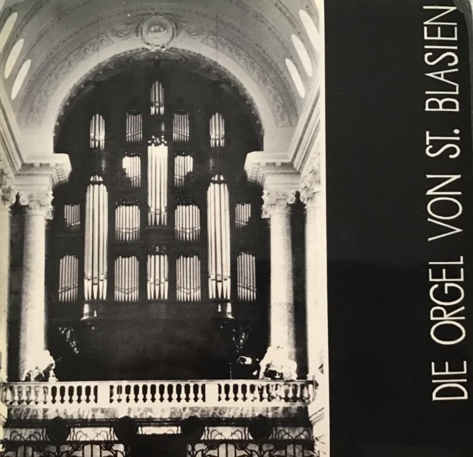 Die Orgel von St. Blasien