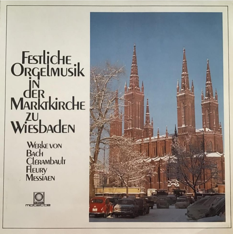Festliche Orgelmusik in der Marktkiche zu Wiesbaden