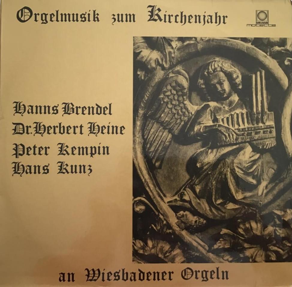 Orgelmusik zum Kirchenjahr