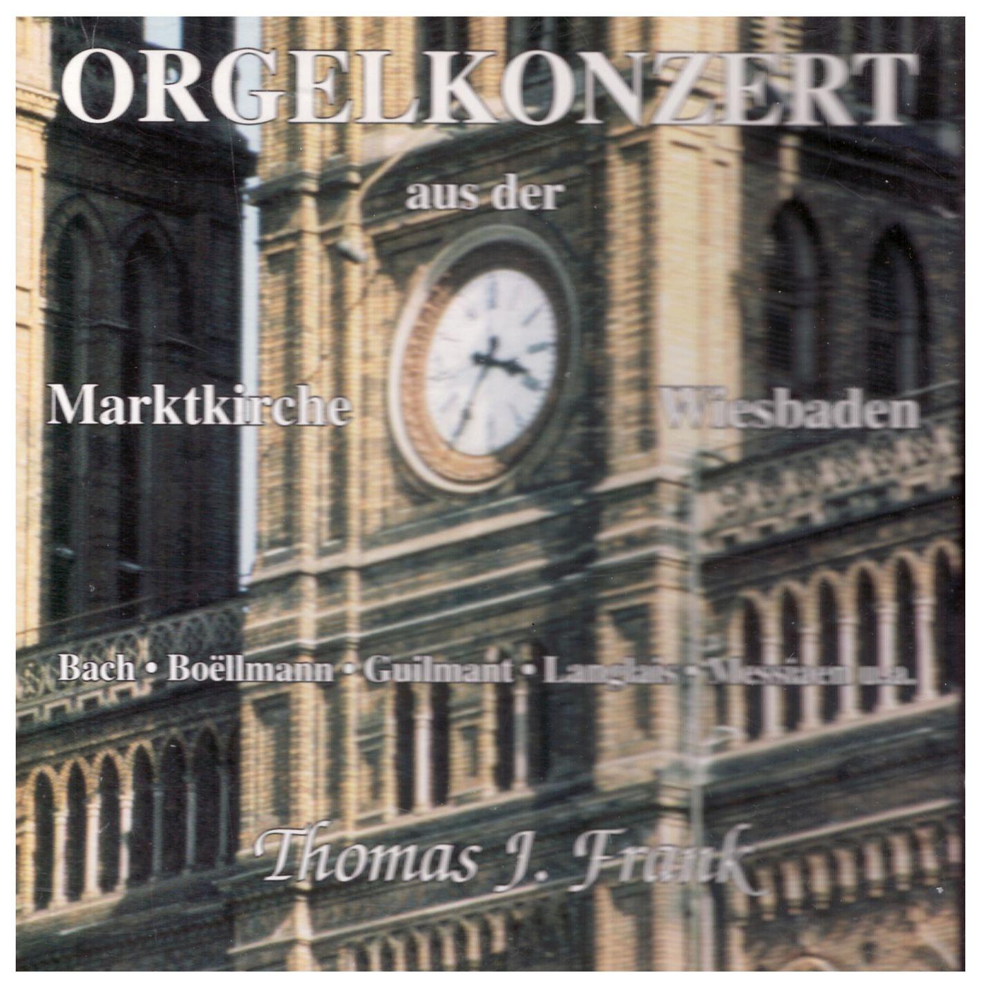 Orgelkonzert aus der Marktkirche Wiesbaden